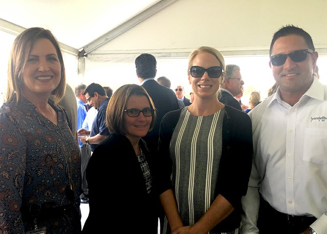 LyondellBasell, State Government Affairs and Bayport Complex celebrate San Jacinto groundbreaking