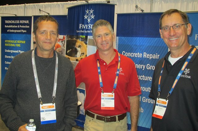 Five Star and Metropolitan Water Reclamation District of Greater Chicago enjoy WEFTEC 2017