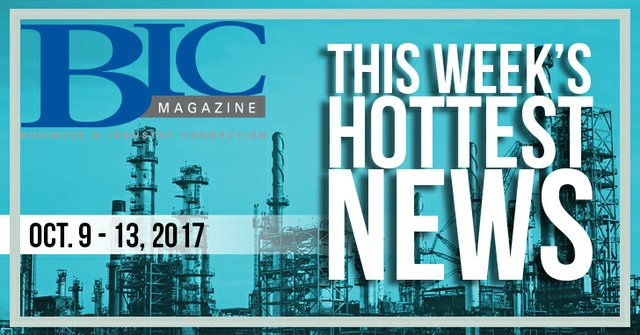 This week's top news: October 9 - 13, 2017