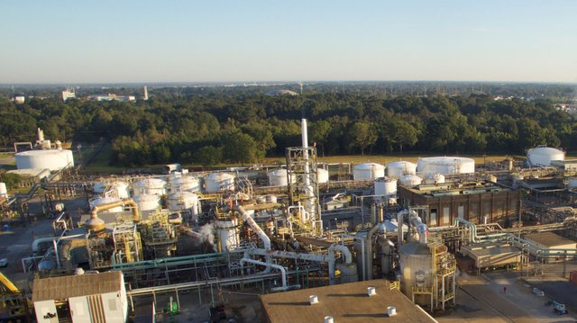 Eco Services Sulfuric Regeneration facility in Baton Rouge Louisiana
