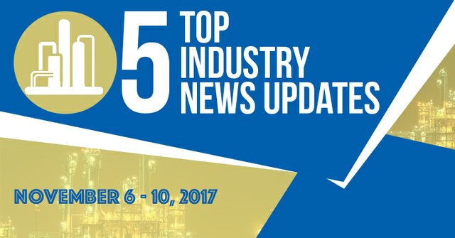 Top 5 News for November 6 -10, 2017
