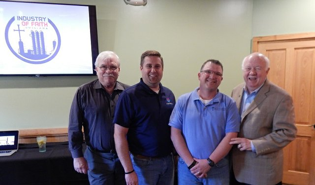 Mark Peters, Dan Vallot  (Industry of Faith), Ken Paxton, Earl Heard.jpg