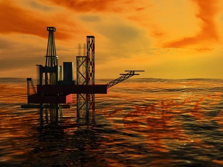 Rig, Drilling, Offshore