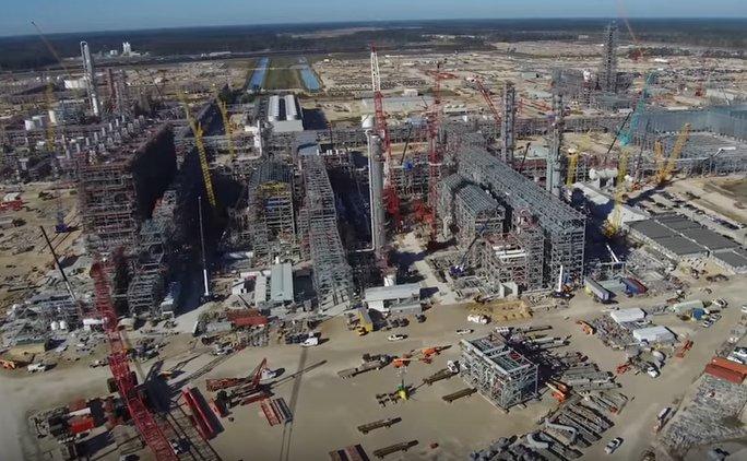 Sasol U.S. Mega Project construction 02/18
