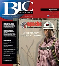 BIC Magazine April 2018 Front Cover