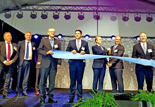 Grand opening of Yara Freeport LLC Ammonia Plant