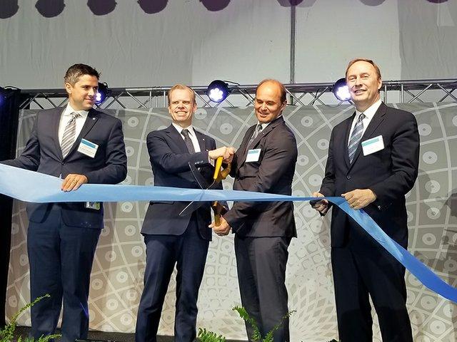 Yara and BASF open world-scale ammonia plant in Freeport, TX